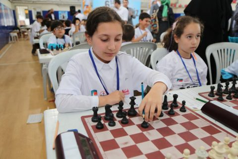 Çekmeköy'de satranç