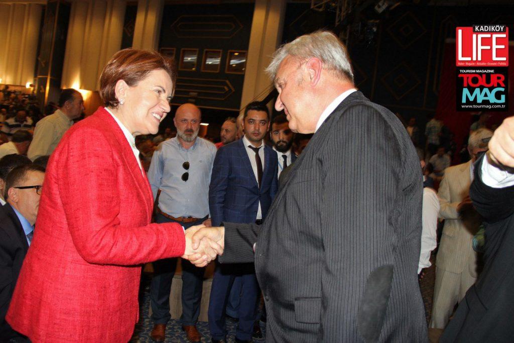 Ahmet Vefik Alp, Meral Akşener'e başarılar diledi.