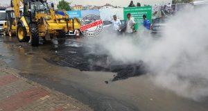 asfalt haşlama