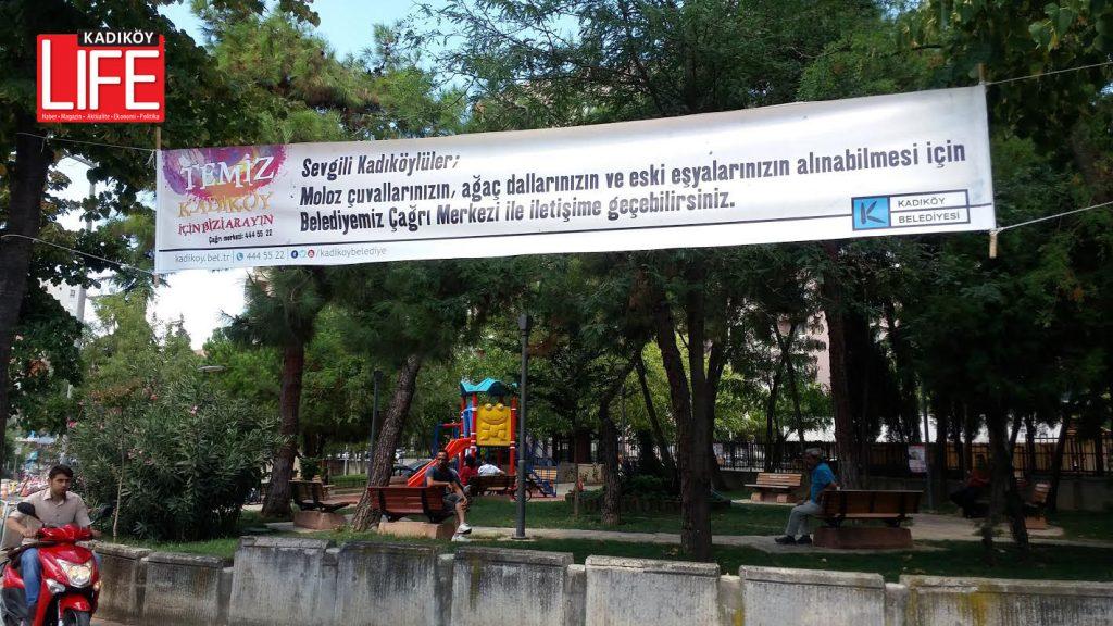Temiz Kadıköy için bizi arayın...
