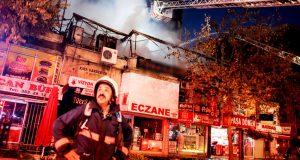 iş yeri yangını