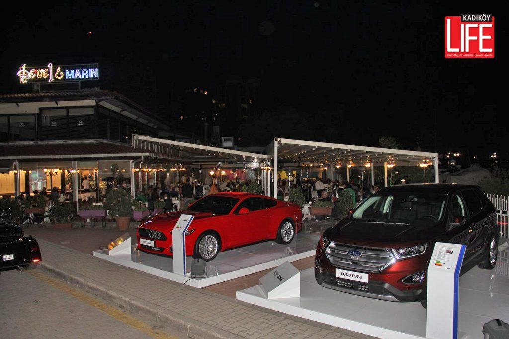 Kadıköylülerin otomobil tutkusunu bilen otomobil firmaları, sunumlarını Kalamış Marina'da yapıyor.