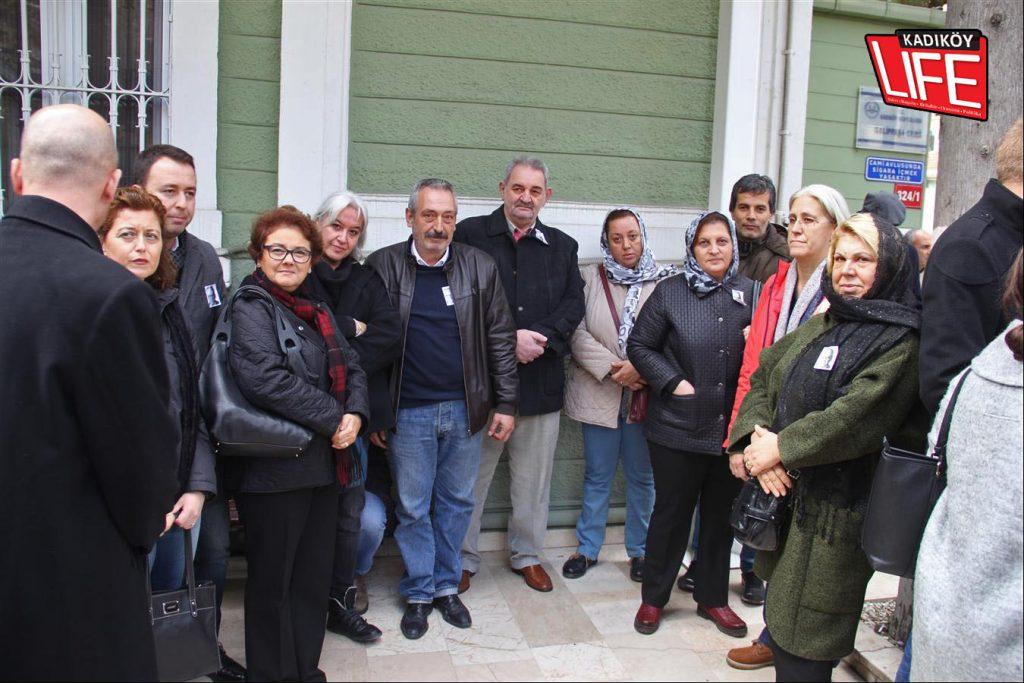 Kadıköy'ün muhtarları, meslektaşları Selçuk Kutlu için bir arada...