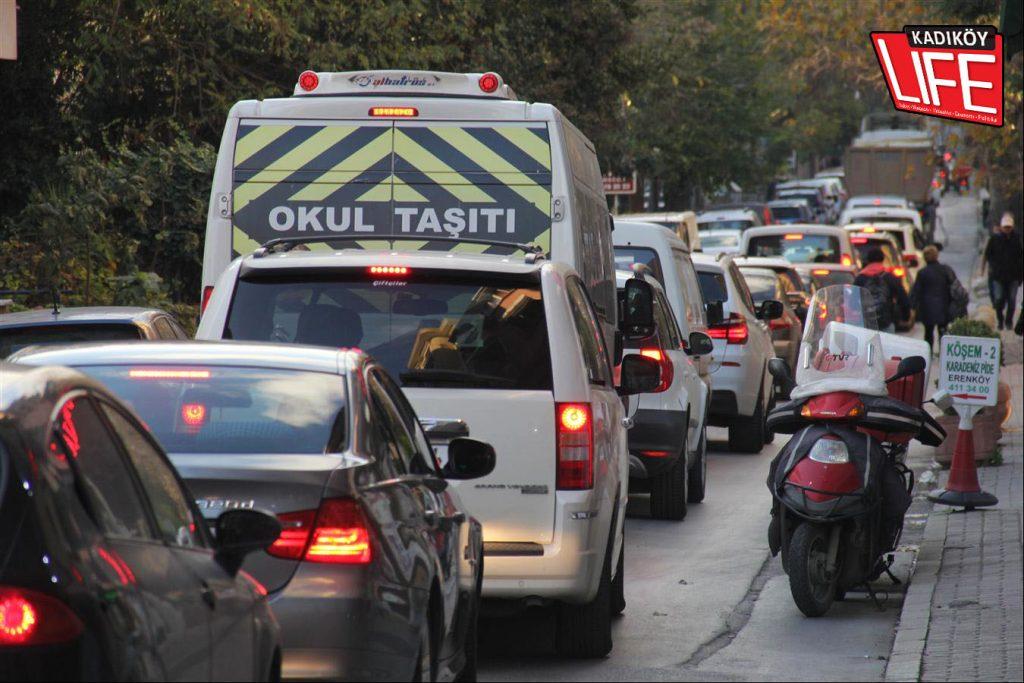 Erenköy'de önümüzdeki yaz aylarına kadar aşırı yoğun trafik kaçınılmaz görülüyor...
